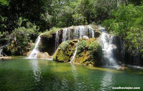 Estância Mimosa - Bonito, Brasil  http://escolhoviajar.com/cachoeiras-e-comida-de-fazenda-roteiro-por-bonito/
