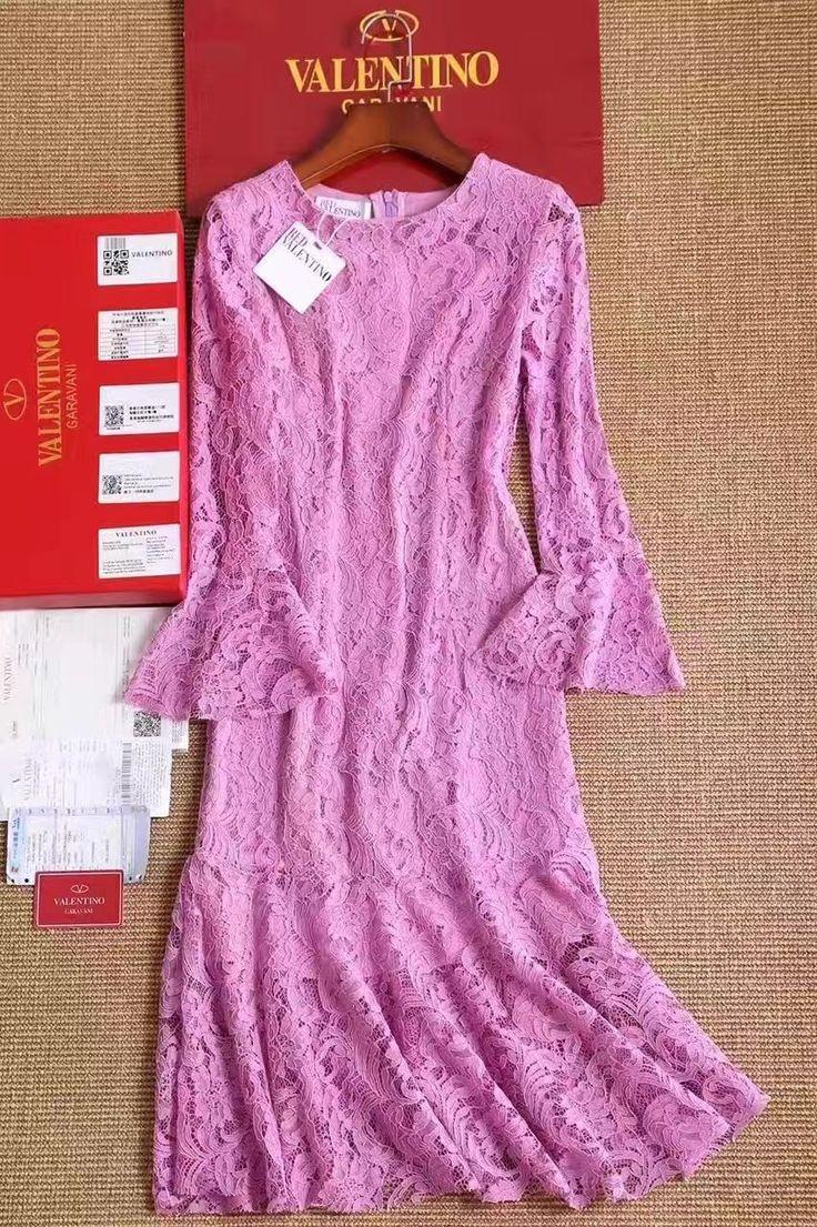 Valentino кружевное платье в розовом цвете! Цена 5999 руб S M L