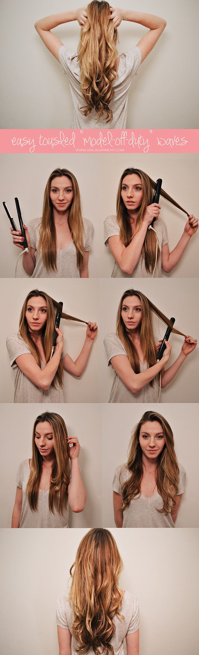 If there is a styling tool you must invest in go with a flat iron. You can do all of the following with one simple tool: - Straighten your hair - Style your bangs - And create 8 different types of curls. You didn't read it wrong. Everyone knows how to use this beauty staple to for sleek hair, but not everyone realize the tool can do more. With the proper styling technique your hair can get curls, spirals, and waves. To Create soft curls similar to curling iron: Clasp a section of hair right…