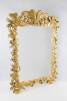 3D Printed Baroque Frame. Stylish frame post-produced to perfection.