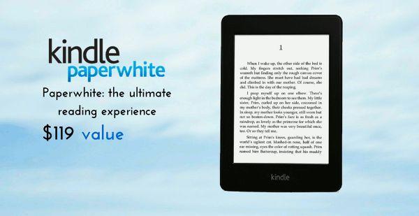 #KindlePaperwhite Giveaway