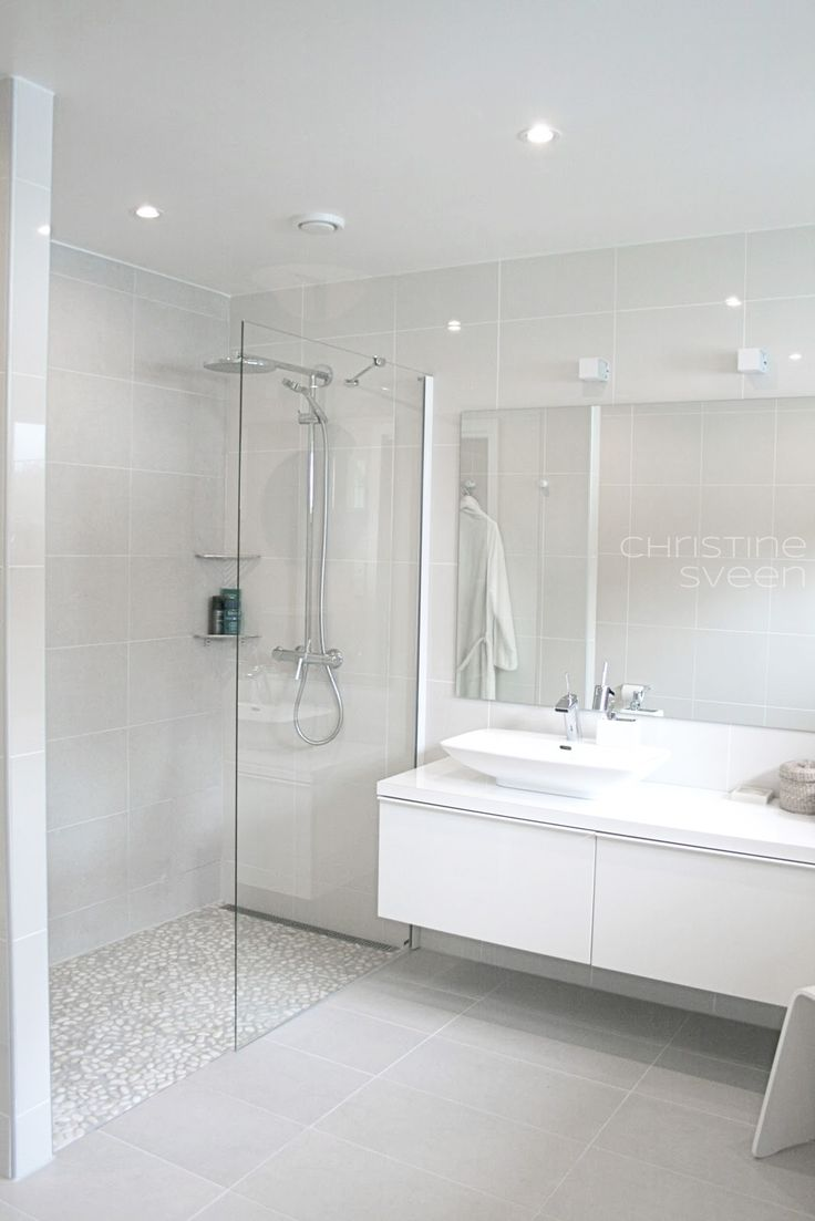 White bathrooms ideas - Christine E Sveen Bad Til Inspirasjon