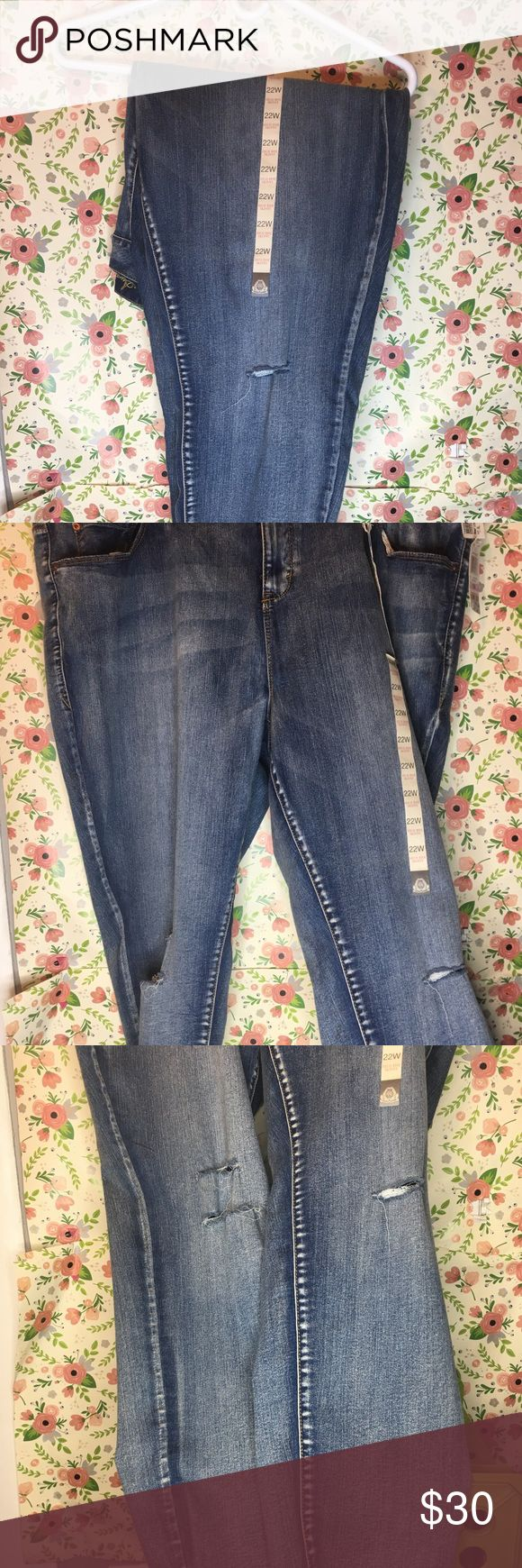 American Rag Jeans American Rag brand New with tags distressed jeans... in great condition American Rag Jeans