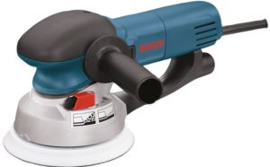The Bosch 1250DEVS 6 in. random orbit sander/polisher.