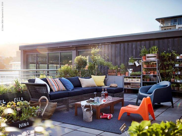 Väx ut på altanen | IKEA Livet Hemma – inspirerande inredning för hemmet