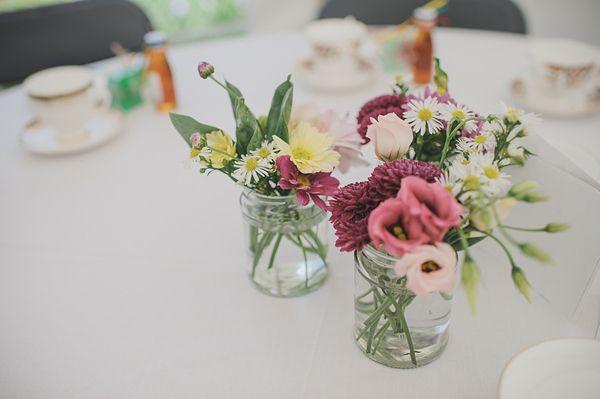 A Second Hand Wedding Dress For a DIY, Handmade and Laidback Afternoon Tea Wedding