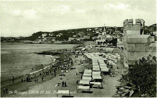 Praia do Tamariz, Estoril - 1930