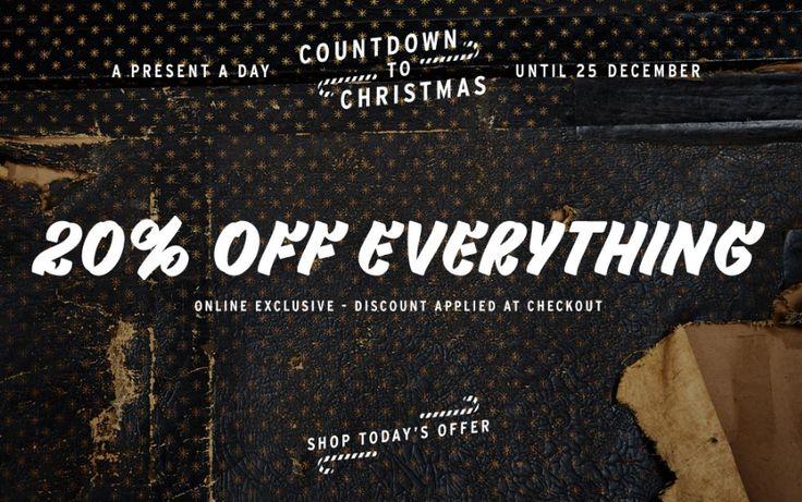 Offer Banner from Top Man #Web #Digital #Banner #Online #Marketing #Fashion #Offer #Christmas