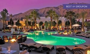 Groupon - Stay at Riviera Palm Springs in Palm Springs, CA, with Dates into July in Palm Springs, CA. Groupon deal price: $80.40