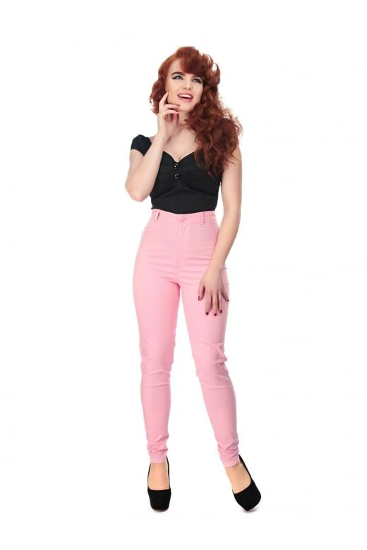 Collectif Mainline Maddie Plain Jeans