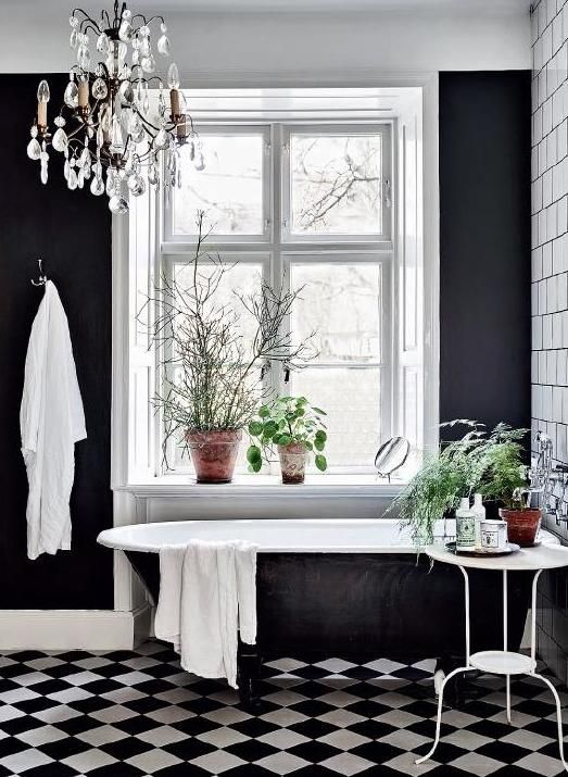 Bathroom Chandeliers Black 133 best bathroom images on pinterest | room, bathroom ideas and home