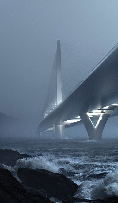 Visions of the Future // Danjiang Bridge by Zaha Hadid Architects in Taipei, Taiwan