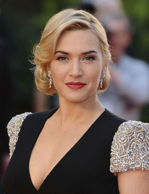 Coiffures chics et faciles... Le chignon rétro de Kate Winslet. (Photo Visual)