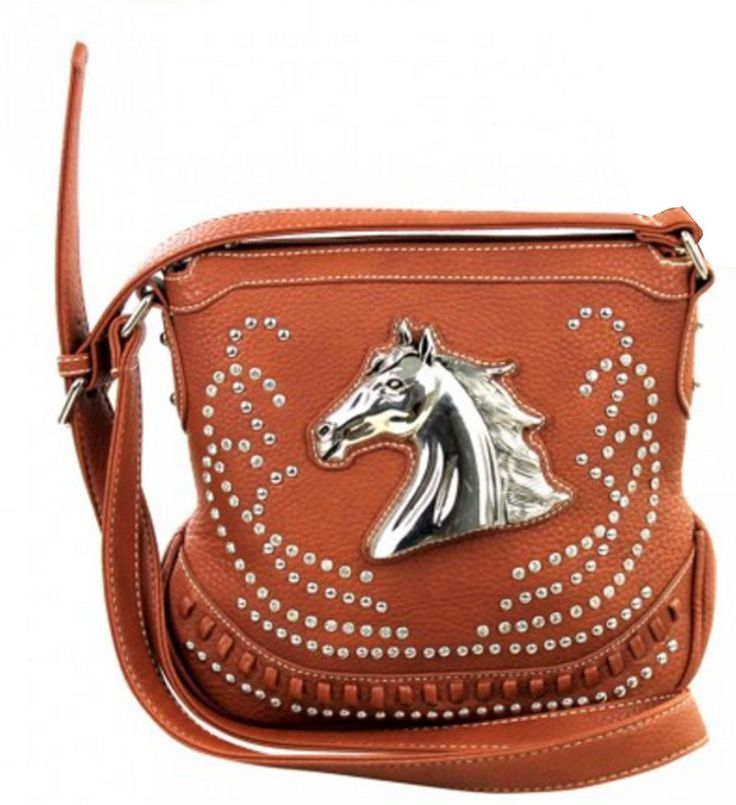 Montana West Western Horse Saddle Bag Style Concealed Carry Purse <>