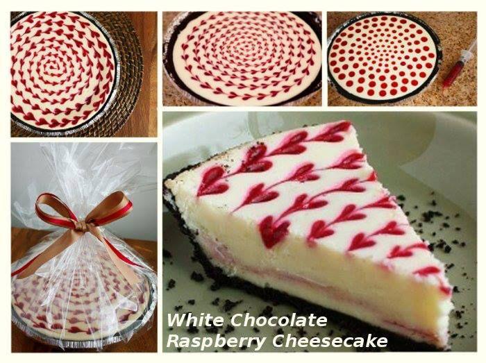 White Chocolate Raspberry Cheesecake  recipe -> http://lovecookeat.com/white-chocolate-raspberry-cheesecake/