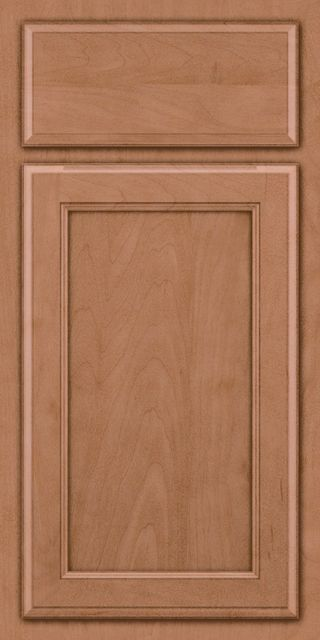 Northwood Maple Square (2NG4) Square Ginger Suede - KraftMaid