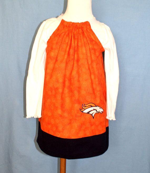 Denver Brincos Dress LOW PRICE 20 DOLLARS on Etsy, $20.00