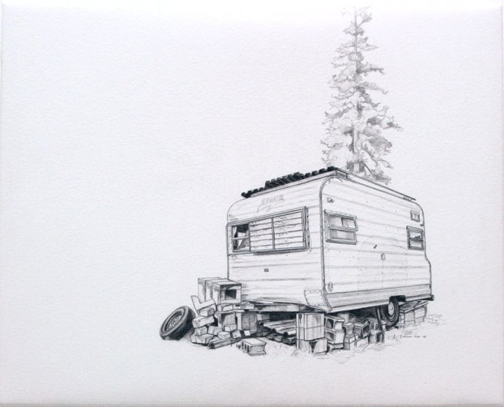 http://www.kevincyr.net #drawing #pencil #rv