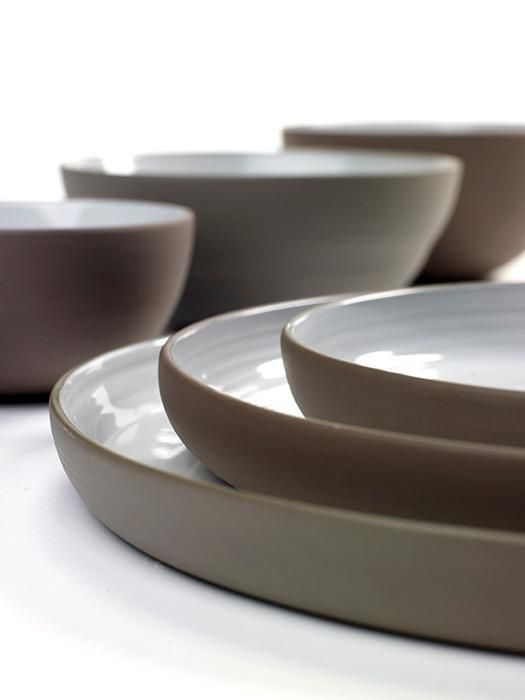 Dusk Tableware by Martine Keirsebilck for Serax