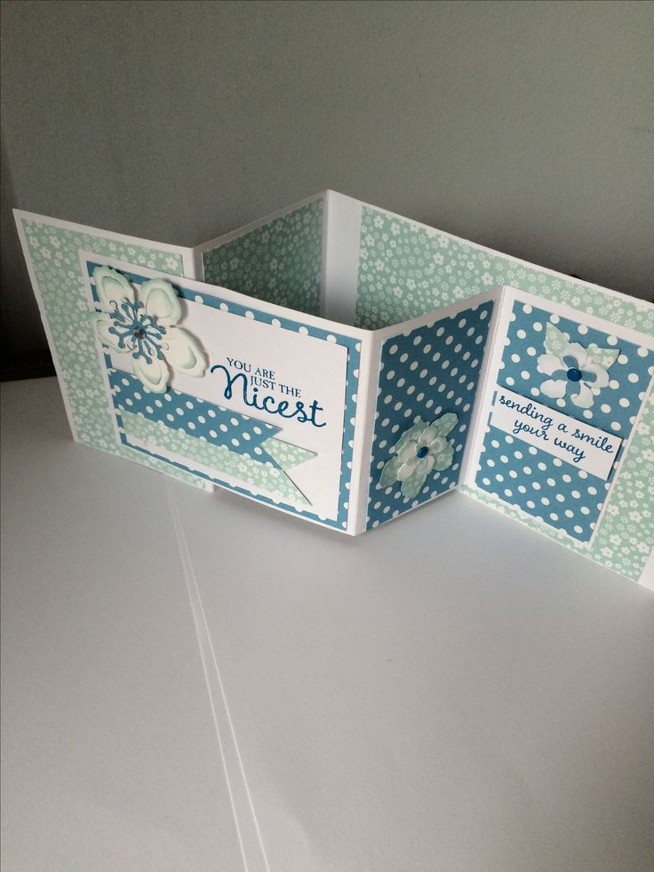 Stampin' Up! Z fold card www.craftystamping.blogspot.co.uk
