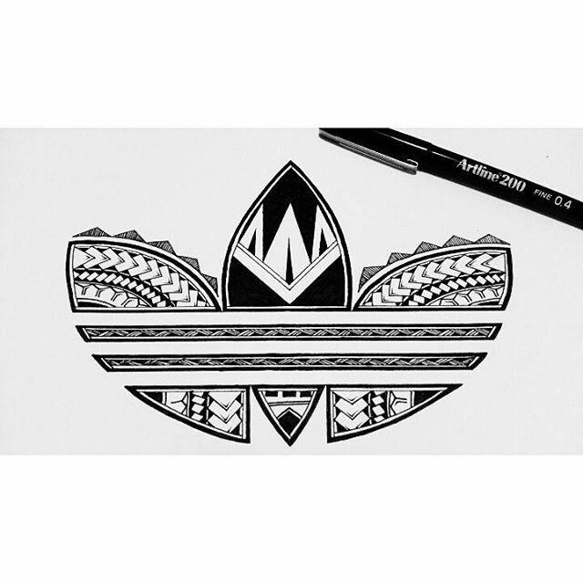 First Adidas logo I designed