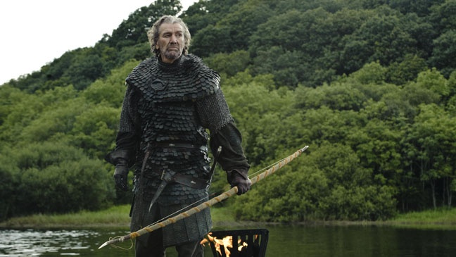 "Brynden ""The Blackfish"" Tully. Clive Russell"