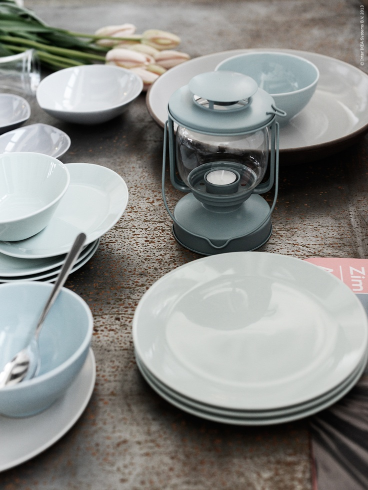 ikea - beach cottage dishes