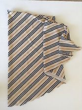 Burberry Skirt Swim Sarong Wrap Swimsuit Bikini Nova Stripe Coverup Medium