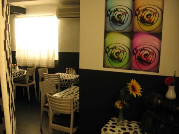 Salón 2 @ Pecado Carnal. c/Fúcar 9, Madrid. Barrio de las Letras. Carne de Kobe y hamburguesas de autor.