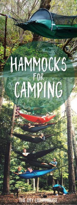 Hammock for camping | List of the 20 coolest hammocks ever including hammocks for camping and the backyard | Plus a DIY hammock tutorial | Coolest hammocks #18: This tent hammock takes camping to a whole new level! It's not quite glamping (glamour camping), but it's certainly camping with style! You'll for sure be the talk of the campground with this super cool tent thing. And… yep! I found it on Amazon so click here. Or check out a similar one by clicking here! | Fun for family camping
