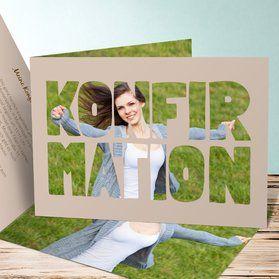 Einladungskarten Konfirmation – Konfirmationseinladungen selbst gestalten – Tanja Giffhorn