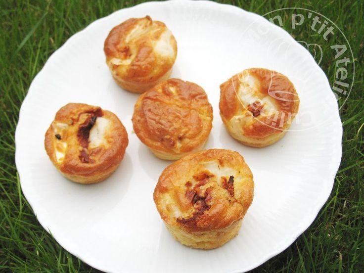 Mini Muffins Tomate sechees chevre1