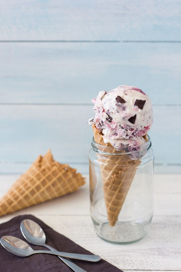 Cherry Chocolate Chip Ice Cream: Chocolates Chips Ice, Chocolate Chips ...