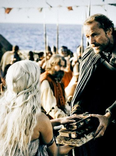 Jorah Mormont, Daenerys Targaryen, Game of Thrones, GOT, GRR Martin, dragons, dothrakis, vaes dothrak, mariage, wedding, khal drogo,