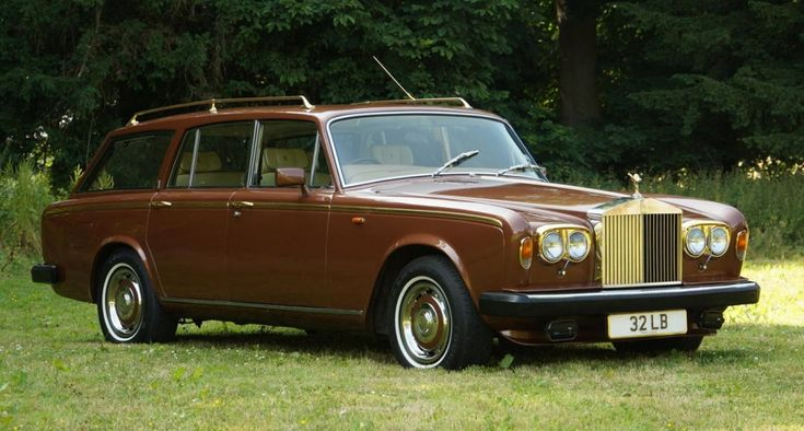 Rolls-Royce Silver Shadow II Shooting Brake 1980.