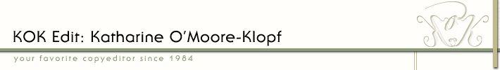 KOK Edit: Your favorite copyeditor since 1984(SM) | super helpful links about freelancing finances
