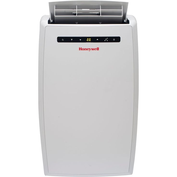Honeywell MN10CESWW Portable Air Conditioner, 10,000 BTU Cooling, LED Display, Single Hose (White), portable air conditioner, honeywell air conditioner | Honeywell Store