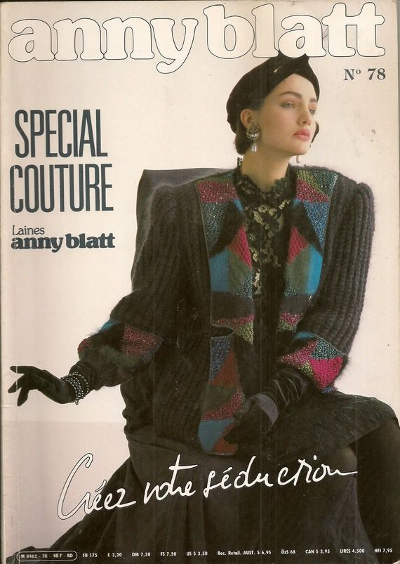 MAGAZINE ANNY BLATT N°78 tricot SPECIAL COUTURE