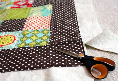 How to sew a quilt, step by step photo tutorial for beginners