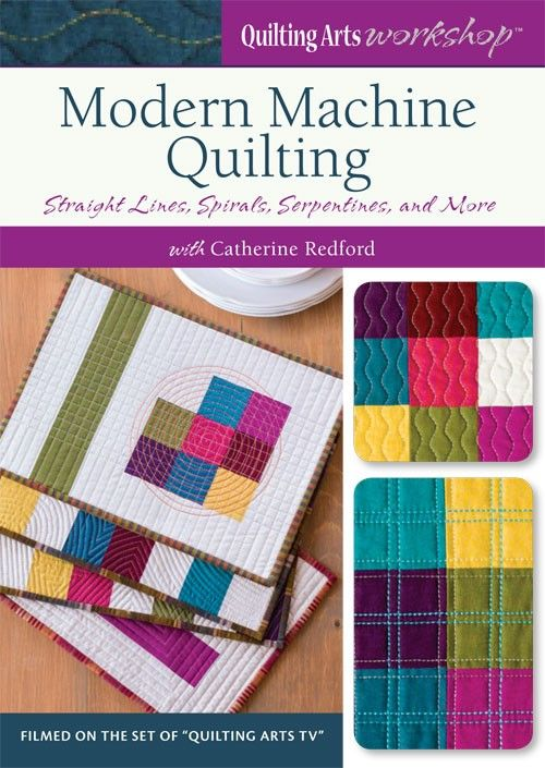 Modern Machine Quilting: Straight Lines, Spirals, Serpentines & More | InterweaveStore.com  xxx