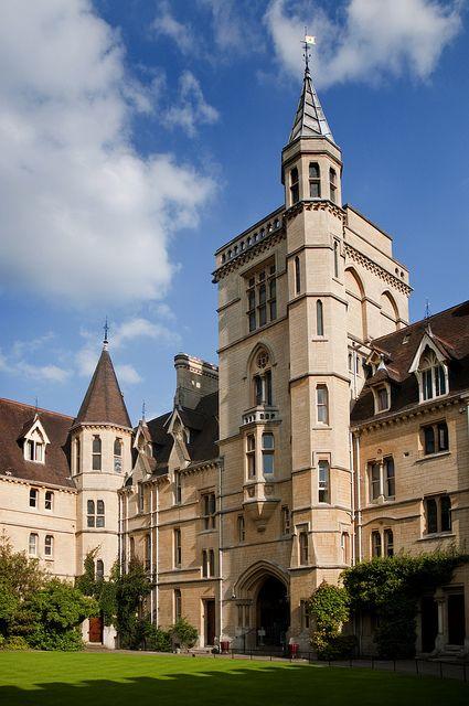 balliol college | UK - Oxford - Balliol College Quad