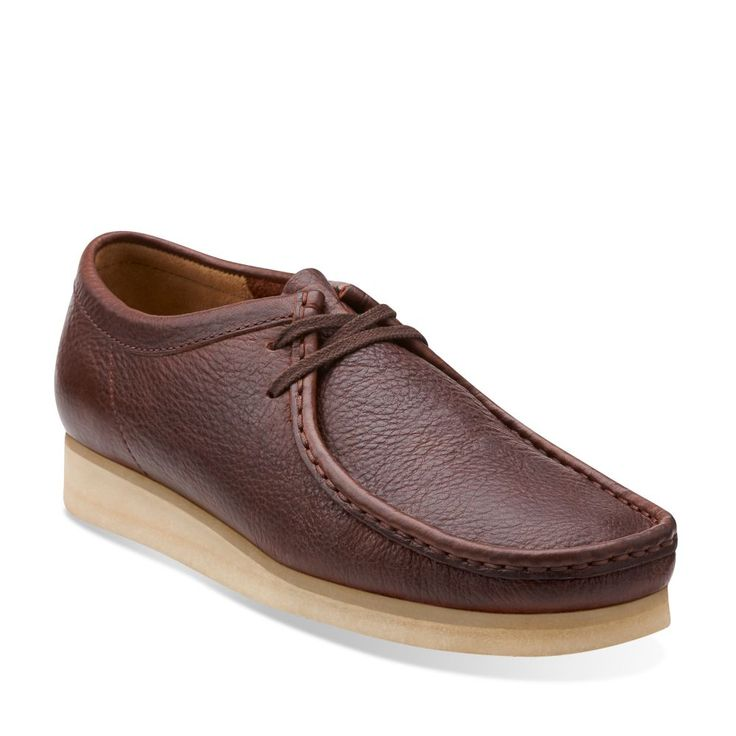 Mens Wallabee Brown Tumbled Leather - Men's Oxford Shoes - Clarks® Shoes - Clarks