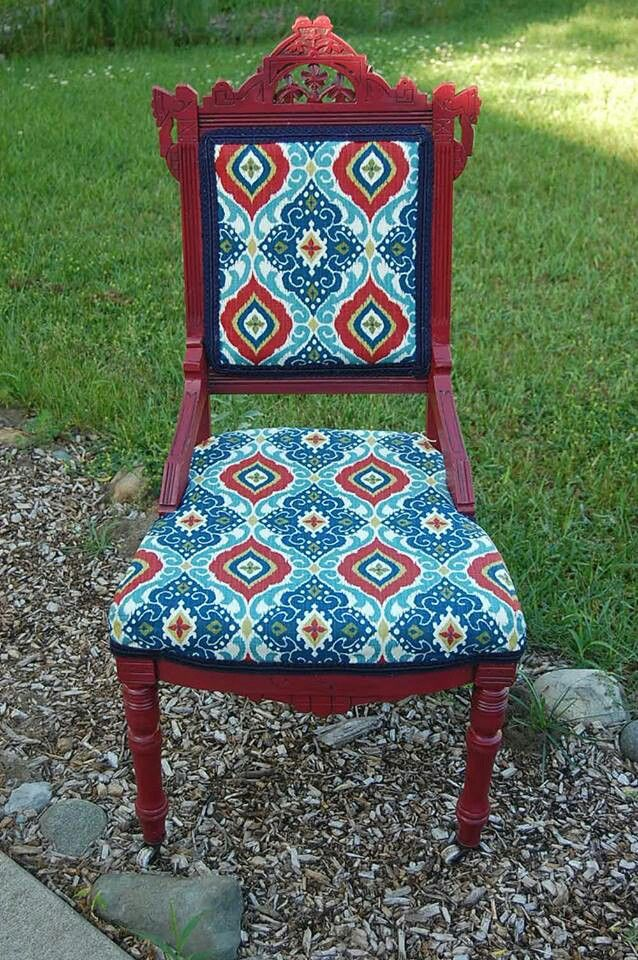 Refurbished Eastlake Chair