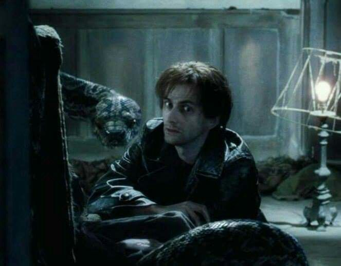"David Tennant as Barty Crouch Jr. in ""Harry Potter and the Globet of Fire"""