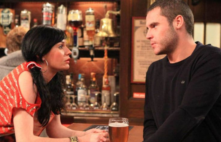 Chas Dingle (Lucy Pargeter) & Aaron Livesy (Danny Miller)
