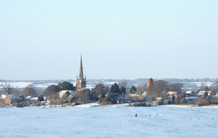 Braunston in the snow