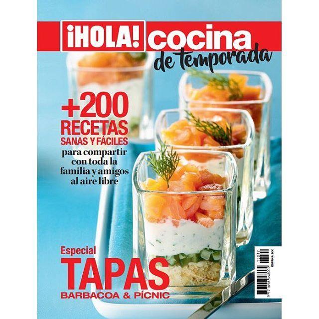 Cómete el verano con el nuevo 'Especial Cocina' de la revista ¡HOLA!, ya en quioscos. El mundo de las tapas se convierte en protagonista de este número especial, cuyas páginas reúnen más de 200 recetas… ¡simplemente irresistibles! #cocina #hola #holacocina #recetas #tapas
