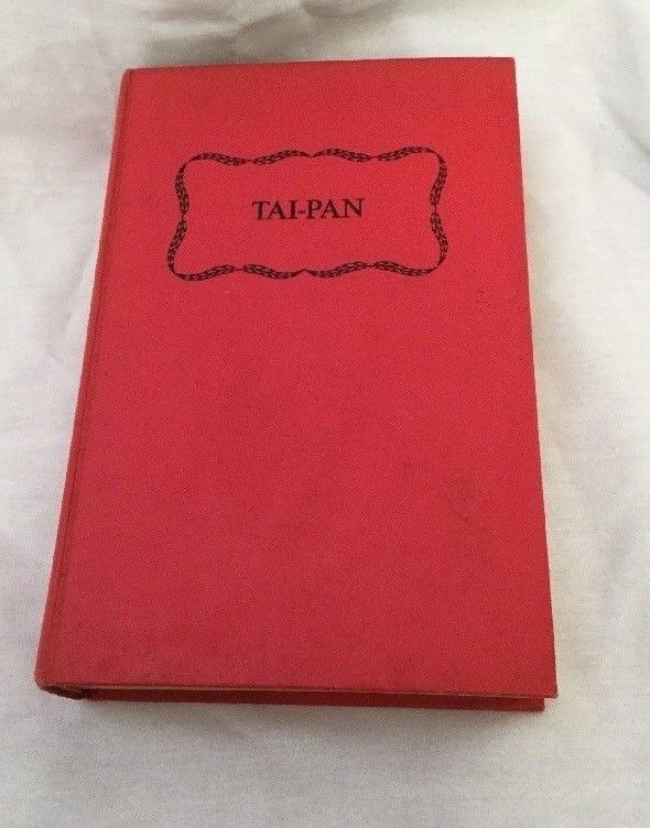 "James Clavell ""TAI-PAN"" (1966) FIRST PRINTING Hardcover"