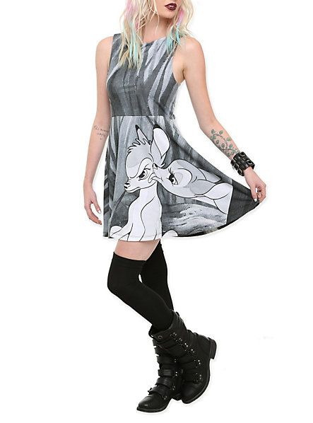 For Hot Topic, this is really cute. Provided it is accessorized the right way.  Disney Bambi Dress   Hot Topic