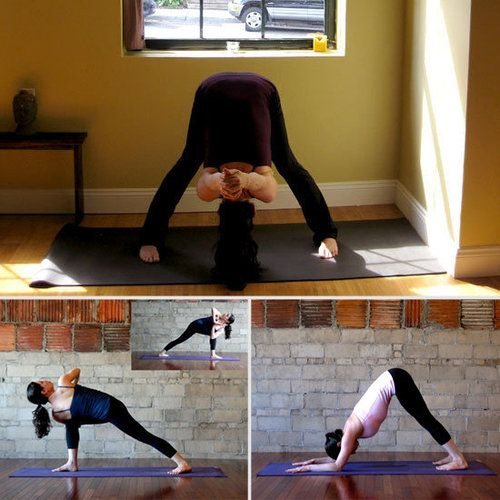 Yoga Sequence For Tight Shoulders.. I have stiff shoulder/neck/upper back muscles from working at a computer.  Hope this helps!